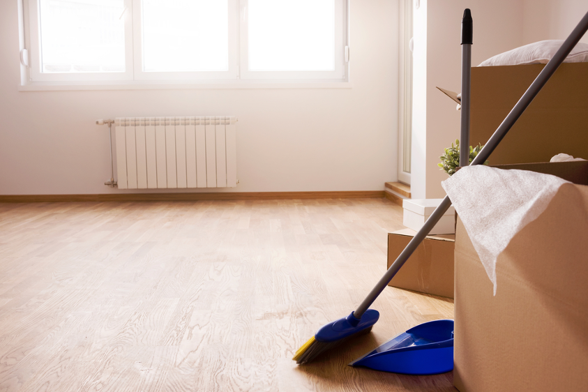 What to Do for House Cleaning Before Moving In